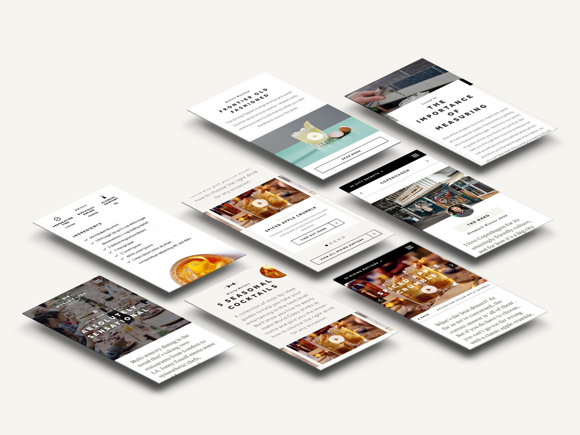 WorldClassPerspective App ScreensC